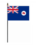 Tasmania Hand Flag - Small.